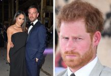 Meghan is turning to Markus and Harrys seeing red Images Getty