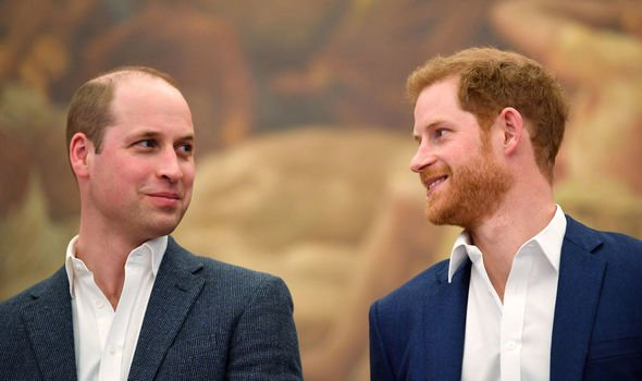 Plans were announced that Meghan and Harry would be splitting from the Cambridge's royal households Image GETTY