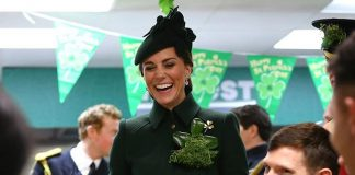 Plenty of laughs were shared between the royals and attendees Image Getty