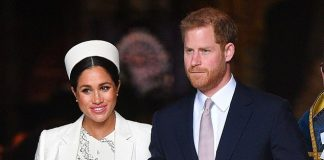 Pregnant Meghan pictured with Prince Harry is said to have worked closely with builders during the renovations