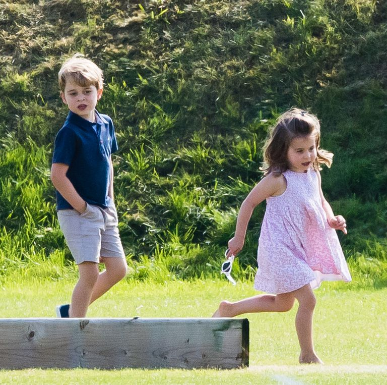 Prince George and Princess Charlotte are growing up George turns this July and Charlotte photo C GETTY IMAGES