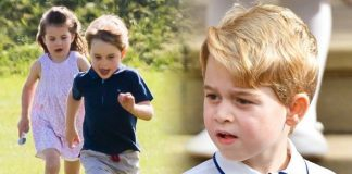 Prince George and Princess Charlotte have so far lived their lives relatively out of the limelight Image GETTY
