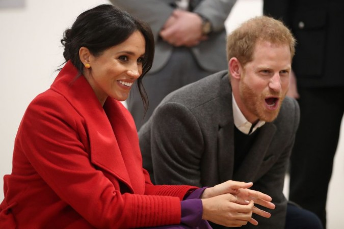 Prince Harrys heartwarming moment in Public with Meghan Markle hiding the growing rift between the royal couples Photo C GETTY IMAGES