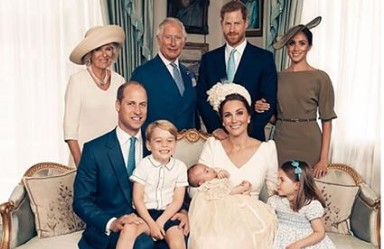Prince William Prince Charles Prince George Princess Charlotte Catherine Duchess of Cambridge Duchess of Sussex Photo C GETTY IMAGES