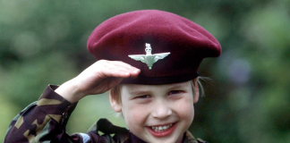 Prince William started training for king at a young age photo C Getty Images