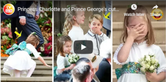 Princess Charlotte and Prince Georges cutest moments at Princess Eugenies royal wedding
