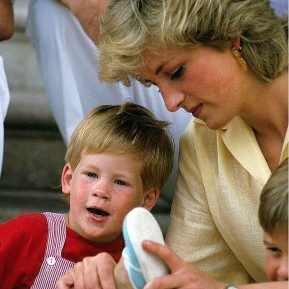 Princess Diana Love for Prince William and Prince Harry Photo C GETTY IMAGES