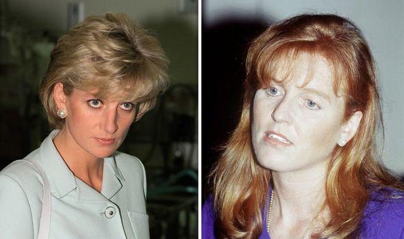 Princess Diana and Sarah Ferguson had a complex relatonship Image Getty