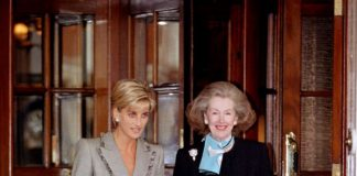 Princess Diana at The Connaught Hotel in Photo C GETTY IMAGES