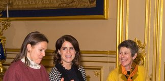 Princess Eugenie looked gorgeous at Windsor Castle PHOTO C GETTY IMAGE