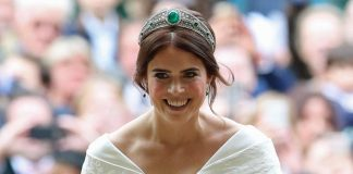 Princess Eugenie reunites with her wedding dress in special visit to royal exhibition PHOTO C GETTY IMAGES
