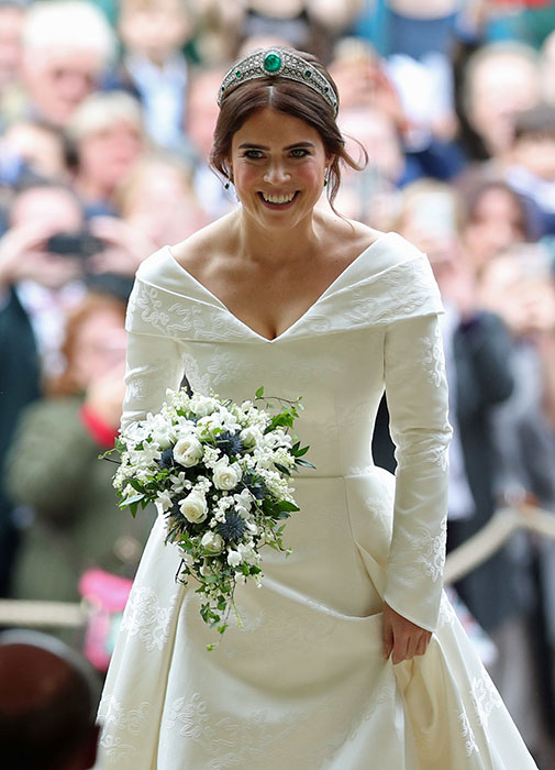Princess Eugenie shares never before seen picture of her in a wedding dress Photo C GETTY IMAGES