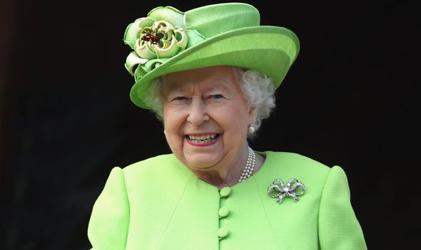 Queen Elizabeth will have a lot of sway when it comes to the Royal babys name Image GETTY