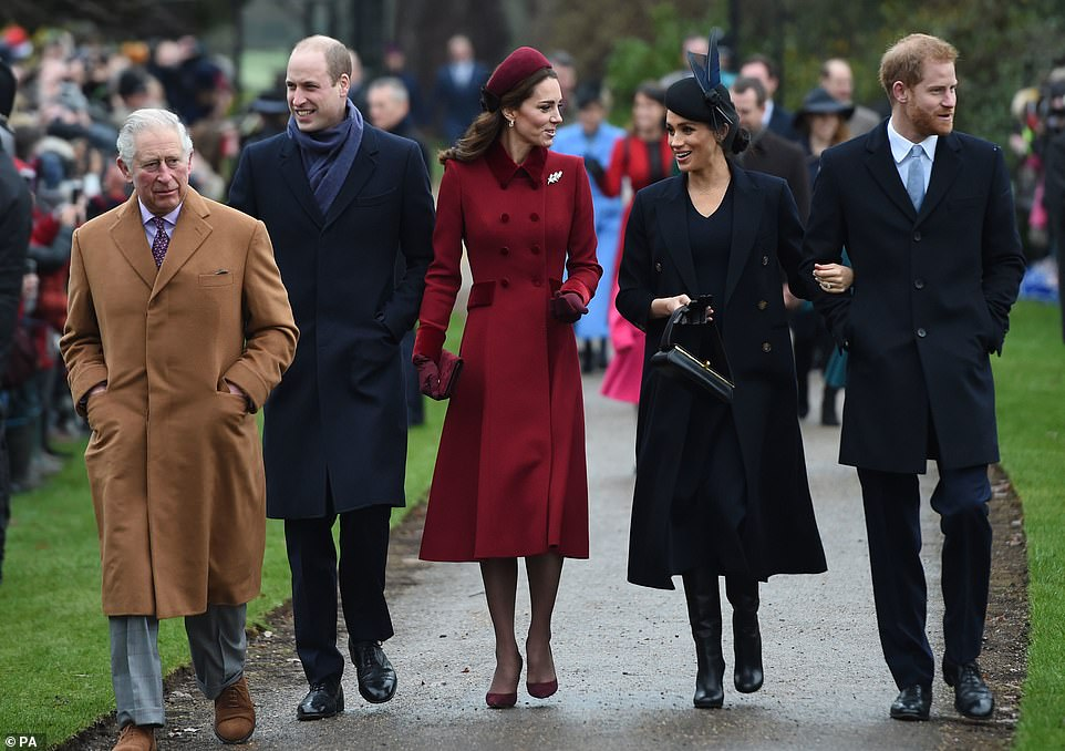 Royal insiders have said there has been no falling out between the Cambridges and the Sussexes seen the last time on Christmas Day at Sandringham