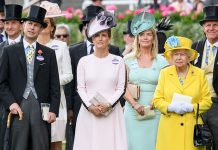 Scotland here one comes Prince Edward Sophie Countess of Wessex and the Queen pictured at Royal Ascot in June