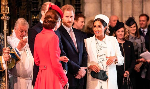 The Cambridges and the Sussexes will be formally dividing their households Image GETTY