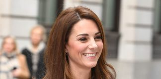 The Duchess of Cambridge donned a bespoke black tweed skirt suit by Dolce Gabbana when she arrived at The Royal Foundations Mental Health in Education