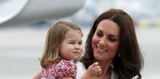 The Duchess with her only daughter Princess Charlotte Photo C GETTY IMAGES