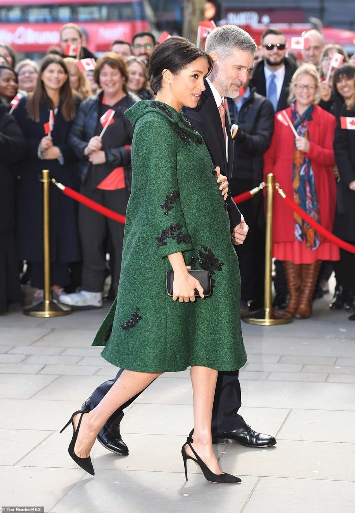 The Duke and Duchess arrive at Canada House Los Angeles native Meghan lived in Canada her second home for over six years while filming for legal drama