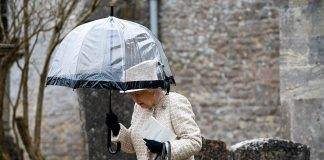 The Queen Meghan Markle and Zara Tindall unite at baby Lenas christening see all the pictures