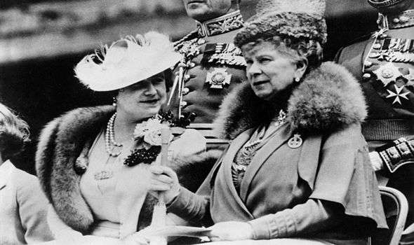 The Queen Mother and Queen Mary strongly believed the Royal Family name should remain Windsor Image GETTY