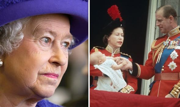 The Queen and Philip waited years before having other children Image GETTY