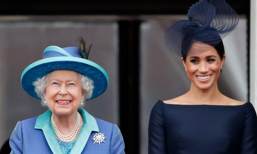 The Queen gives Meghan Markle incredible gift on iconic day PHOTO c GETTY IMAGES