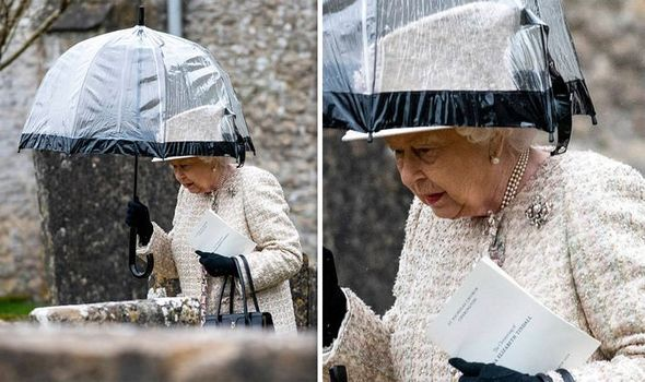 The Queen stepped out for the christening of Zara Tindall's baby Lena Image ANDREW LLOYD
