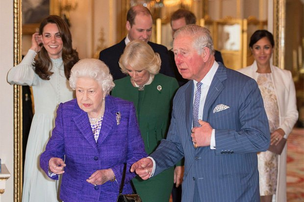 The celebrations were to mark Charless th anniversary as Prince of Wales Pic GETTY