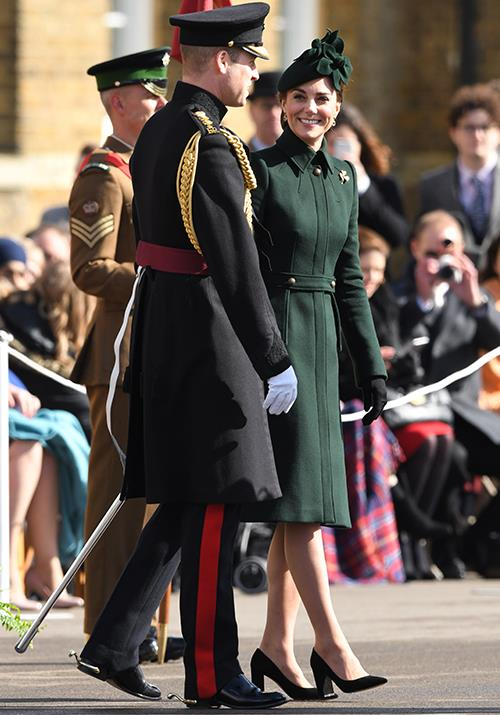 The look of love Kate and William shared some sweet moments during St Patricks Day celebrations in London Image Getty