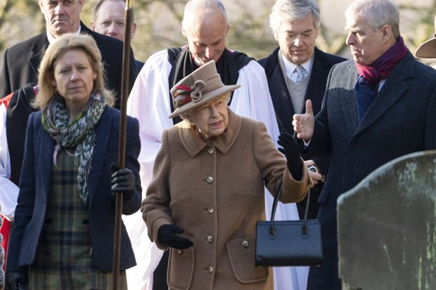The queen and Prince Andrew have a good relationship it is said Pic GETTY