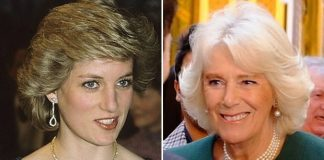 The two women wore the same item of jewellery Pic GETTY CLARENCE HOUSE