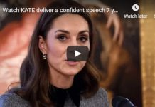 Watch Kate Middleton deliver a confident speech years after her royal first