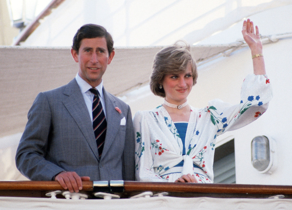 While on their honeymoon Princess Diana is said to have seen Prince Charles wearing cufflinks dedicated to Camilla
