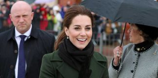 Why Kate Middleton declined an umbrella during Blackpool visit Photo C GETTY IMAGES