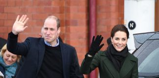 William and Kate in Blackpool on Wednesday Photo C GETTY IMAGES