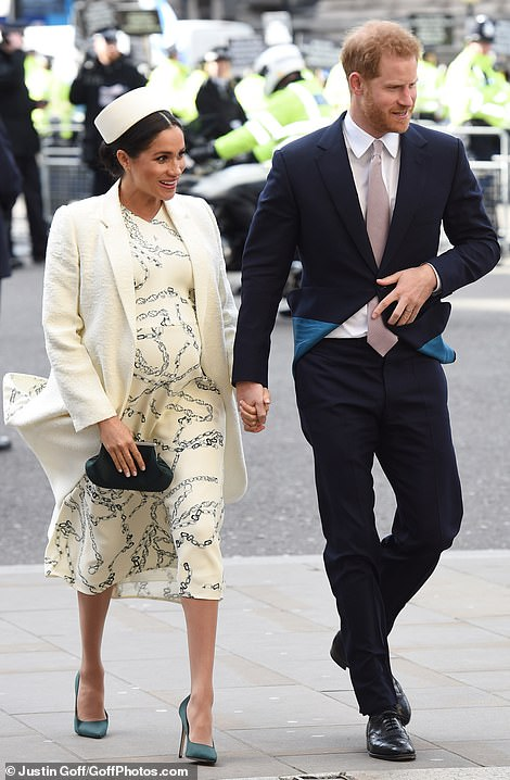 William gave his wife an admiring smile as they made their way into Westminster Abbey