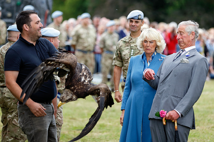 prince charles scared of eagle