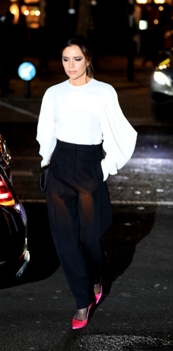 victoria beckham arrives Photo (C) GETTY IMAGES