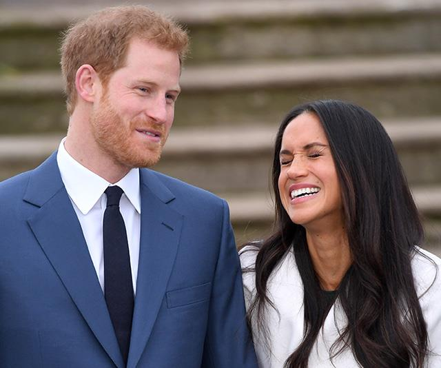 A rare new photo from Meghan and Harrys pre wedding days has been revealed Image Getty