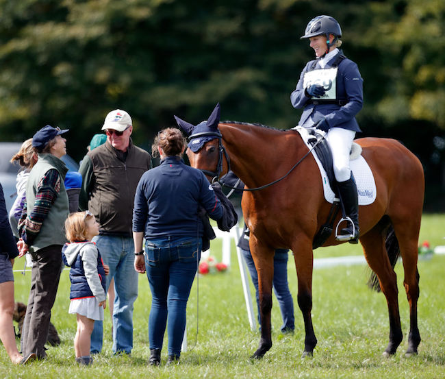 Equestrian events are an important part of Annes family life Photo C GETTY IMAGES
