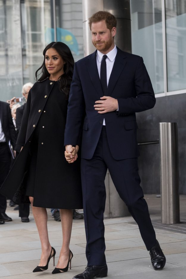 Harry and Meghan want a water birth Mark Cuthbert UK Press via Getty Images