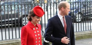 Kate Middleton and Prince William at Westminster Abbey on March Photo C GETTY IMAGES
