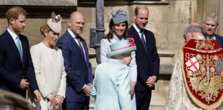 Kate Middleton joins Prince William and Prince Harry at the Queens birthday Easter service live updates Photo C GETTY IMAGES