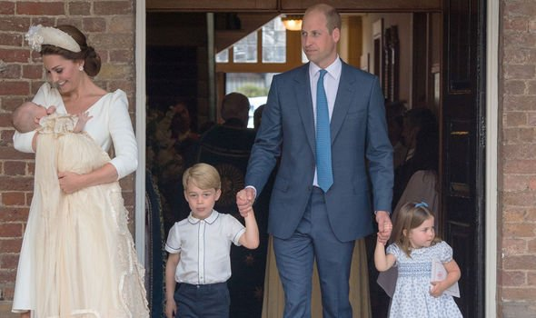 Kate is devoted to her three children Prince George Princess Charlotte and Prince Louis Image GETTY