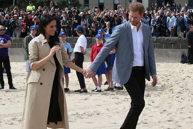 MEGHAN AND HARRY The pair carried out many royal duties until recently Pic GETTY