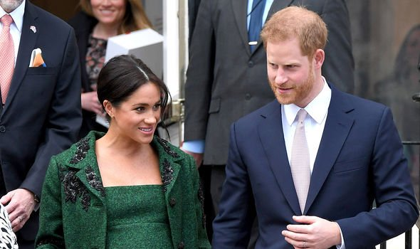 Meghan Markle and Harry recently moved to Frogmore Cottage to welcome their first child Image C GETTY
