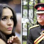 Meghan Markle and Prince Harry pictured in Image Getty