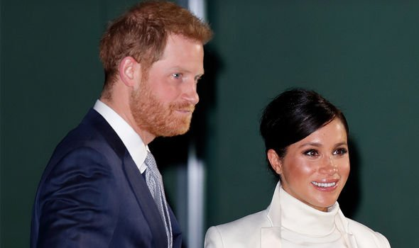 Meghan Markle is lucky to have Prince Harry on her side Image GETTY