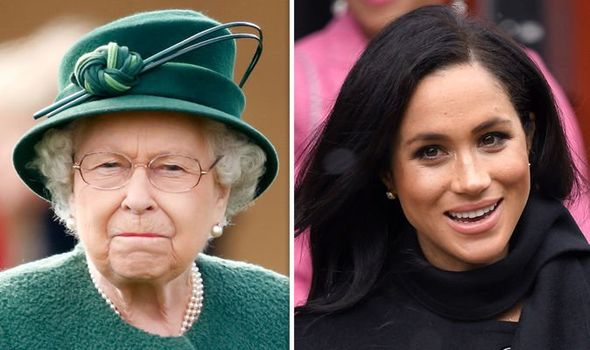 Meghan Markle is reported to have courtiers recoil due to her behaviour Image c GETTY